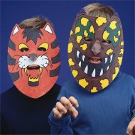 Animal Masks Craft Kit (makes 24)