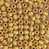 Softball Beads (bag of 144)