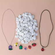 Resin Charms (pack of 105)