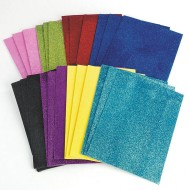 Sticky Back Glitter Foam (pack of 24)