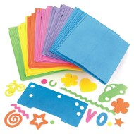 Foam Letters and Shapes (pack of 96)