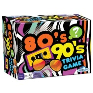 80s and 90s Trivia Card Game