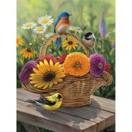 Summer Bouquet Easy Handling Puzzle, 275 Pieces