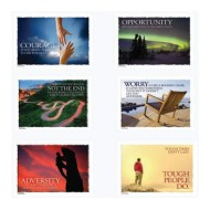 Overcoming Adversity Posters (set of 6)