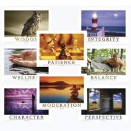 Mind Body Spirit Poster Series Set of 8 (set of 8)