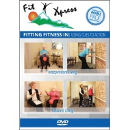 Fit Xpress Fitting Fitness 2-DVD Pack (pack of 2)