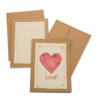 Color-Me™ Canvas Greeting Card (makes 12)