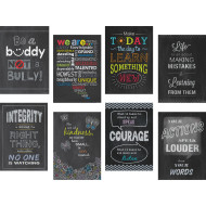 Inspire U Chalkboard 8 Chart Pack (set of 8)