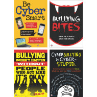 Bully Prevention Bulletin Board Set for Middle School Grades (set of 4)