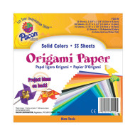 "Origami Paper  5 7/8"" sq Assorted (pack of 55)"