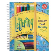 Lettering In Crazy Quirky Style Book (set of 6)