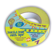 Teach and Tear Math Tape
