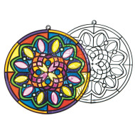 Sun Catcher Mandalas (pack of 12)