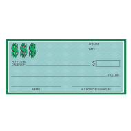 Jumbo Checks (pack of 12)