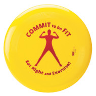 Commit To Be Fit Flying Disc