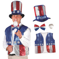 Uncle Sam Outfit (set of 4)