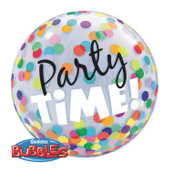 Bubble Balloon: Colorful Dots 22""