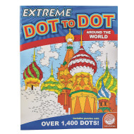 Extreme Dot To Dot Around The World Puzzle Book