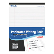 Legal Style Writing Pads (pack of 12)