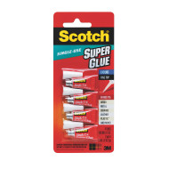 Scotch® Super Glue, Individual Application (pack of 4)