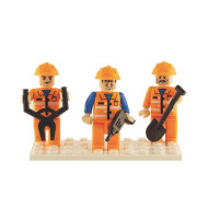 Brictek™ Construction Mini Figures