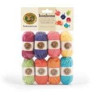 Bonbons® Mini Acrylic Yarn Pack - Brights (pack of 8)