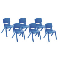 "Resin Stack Chairs - 10"" (set of 6)"