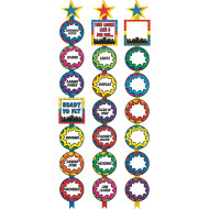 Super Heroes Ready Reminders Display Charts