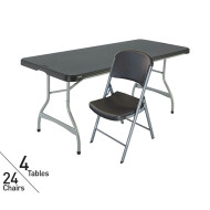 Lifetime Folding Tables and Chairs Easy Pack