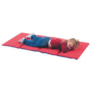 "4-Section 1"" Thick Infection Control Rest Mat"