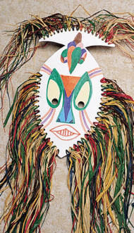 African Mask Craft Kit (makes 9)