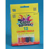 Color Splash!® Short Colored Pencils  (box of 12)
