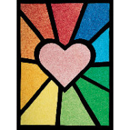 Colorlite Stained Glass Windows Craft Kit (makes 50)