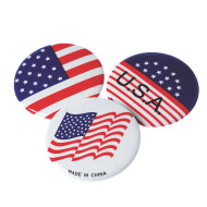 American Flag USA Buttons (pack of 144)