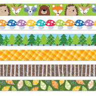 Woodland Friends Bulletin Border Trim (pack of 6)