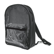 Clear Front Backpack, 15""