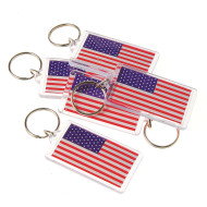 US Flag Keychains (pack of 12)
