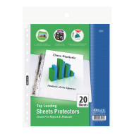 Top Loading Sheet Protectors (pack of 20)