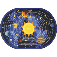 Cosmic Wonders Carpet, Oval
