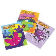 Mini Halloween Coloring Books (pack of 12)