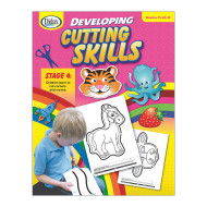 Developing Cutting Skills: Pre K to K Book