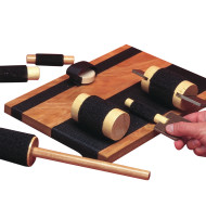 Hand Exercise Board with Hook and Loop Fasteners