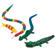 Flexible Wooden Animals Easy Pack
