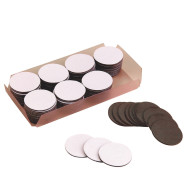 "Magnetic Coins 3/4"", Adhesive-Backed (pack of 100)"