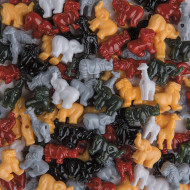 Safari Bead Mix 1/2-lb Bag (bag of 125)