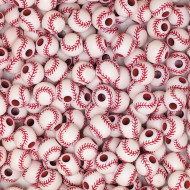 Baseball Beads (bag of 144)