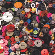 Craft Buttons 1-lb. Bag (bag of 400)