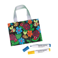Velvet Bug Tote Craft Kit (makes 12)