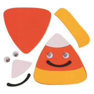 Candy Corn Magnet Craft Kit (makes 12)