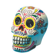 Color-Me™ Ceramic Bisque Skull Banks  (makes 12)